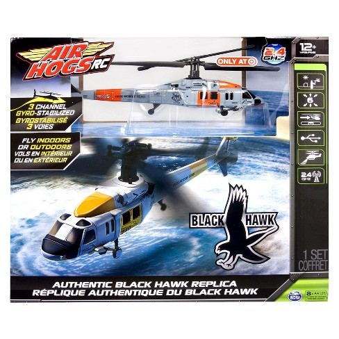 Air Hogs RC Black Hawk Helicopter - Orange and White - image 1 of 2