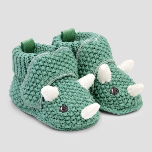 b282fa9e0 Baby Boys' Bootie Slippers - Just One You® made by carter's Green Newborn