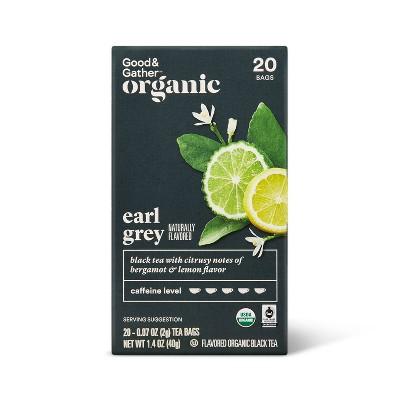 Organic Earl Gray Black Tea - 20ct - Good & Gather™