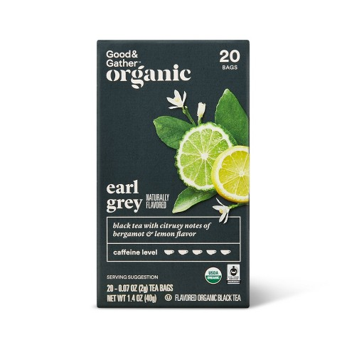Organic Earl Gray Black Tea - 20ct - Good & Gather™ - image 1 of 4