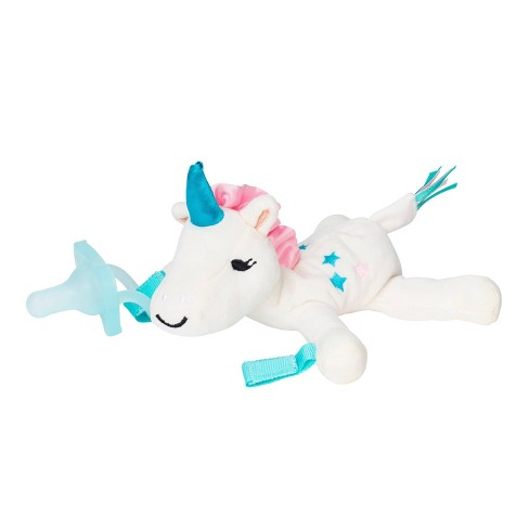 Dr. Brown's Unicorn Lovey Pacifer & Teether Holder - image 1 of 4