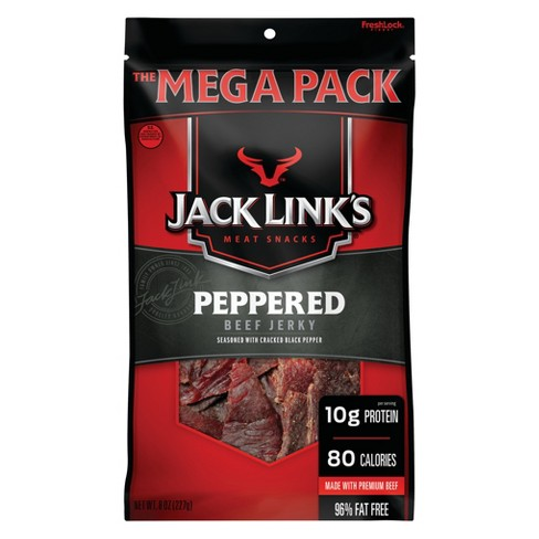 Jack Link's Peppered Beef Jerky - 8oz - image 1 of 2