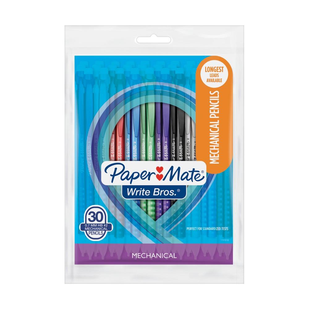 Paper Mate #2 Mechanical Pencils 0.7mm Multicolor 30ct, Multi-Colored