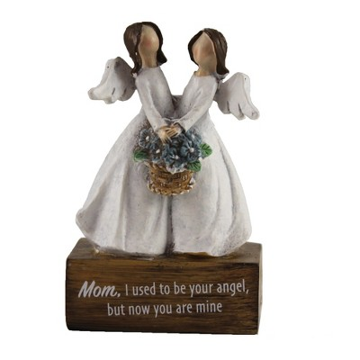 """Figurine 4.25"""" Angel Message On Blocks Message Mothers Day Heavenly  -  Decorative Figurines"""