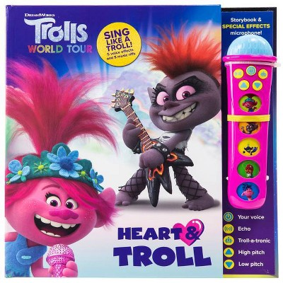 Trolls 2 Voice Changing Microphone Book (Board Book)
