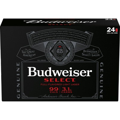 Budweiser Select Beer - 24pk/12 fl oz Cans