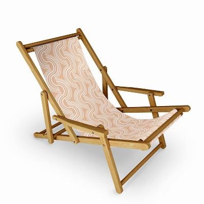 Heather Dutton Wander Desert Clay Sling Chair