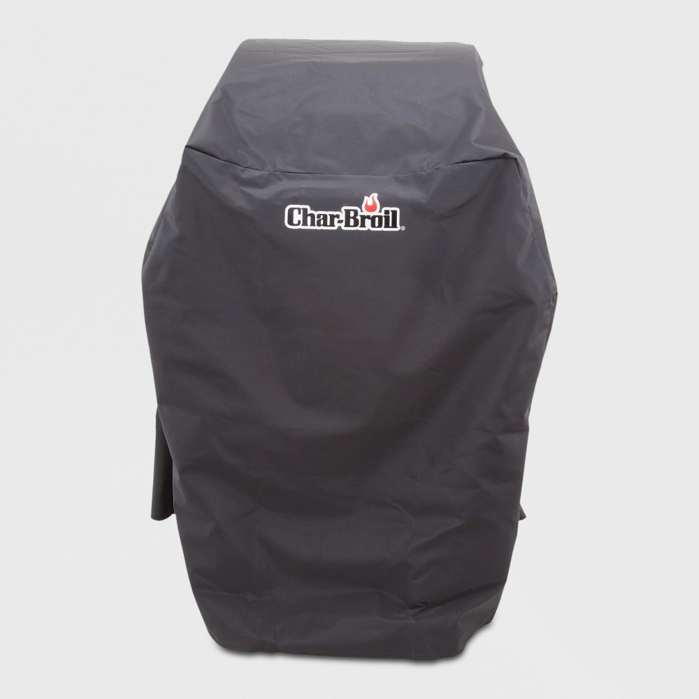 Image of Char-Broil 2 Burner Rip-Stop Grill Cover - Black