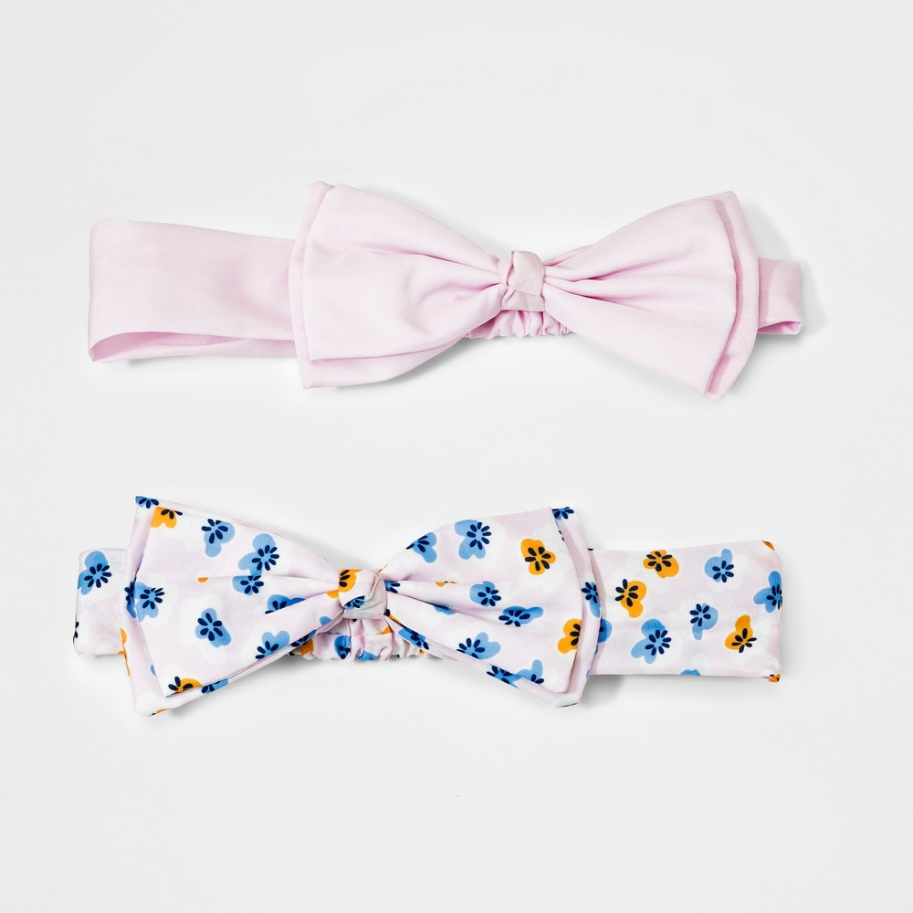 Girls' 2pk Headwrap - Cat & Jack, Multi-Colored