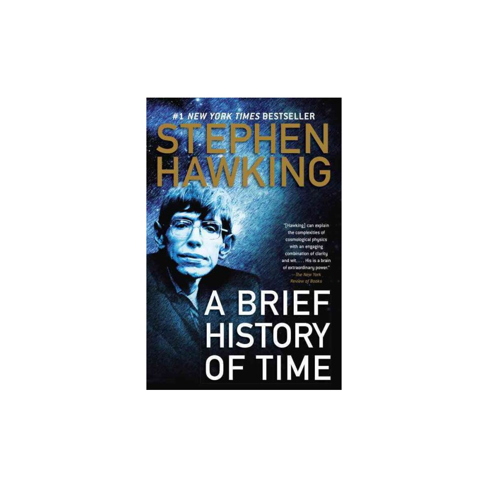 Brief History of Time - by Stephen W. Hawking (Hardcover)