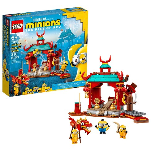 LEGO Minions Minions Kung Fu Battle Building Toy for Creative Fun 75550 - image 1 of 4