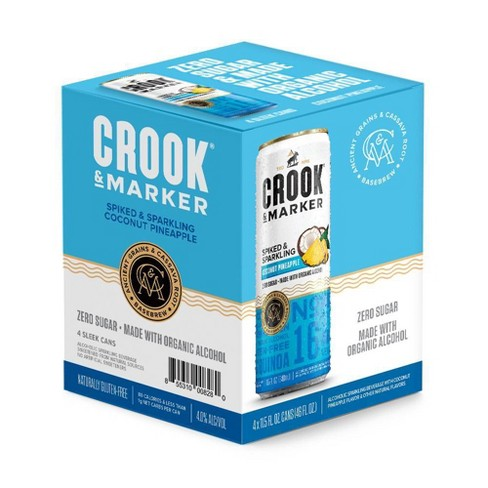 Crook & Marker Coconut Pineapple - 4pk / 11.5 fl oz Cans - image 1 of 1