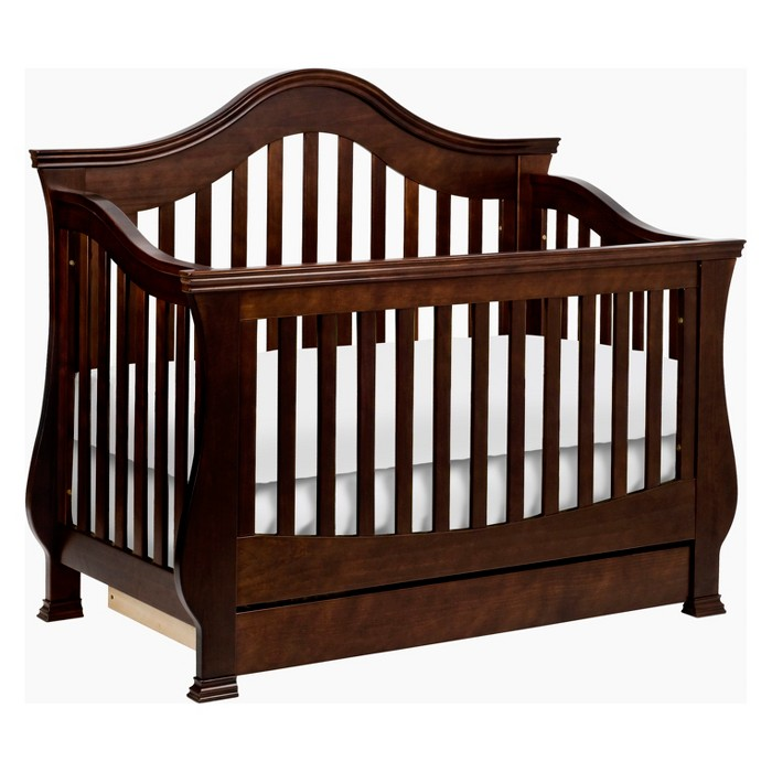 Million Dollar Baby Classic Ashbury 4-in-1 Convertible Crib with Toddler Rail - image 1 of 9