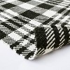 """2'1""""x3'2"""" Indoor/Outdoor Scatter Plaid Rug Black - Threshold™ designed by Studio McGee - image 4 of 4"""