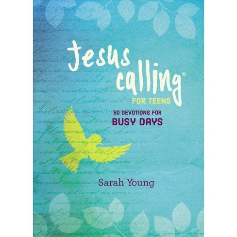 50 Devotions for Busy Days -  (Jesus Calling for Teens) by Sarah Young (Hardcover) - image 1 of 1