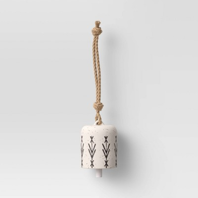 Ceramic Wind Chime White/Black - Opalhouse™