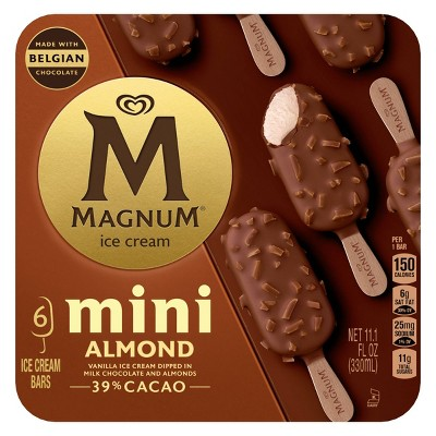 Magnum Mini Almond Ice Cream Bars - 6ct