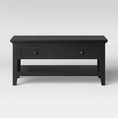Carson Coffee Table Black - Threshold™