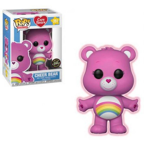 Care Bears Funko POP! Animation Cheer Bear Vinyl Figure #351 [Glow-in-the-Dark Chase Version] - image 1 of 1