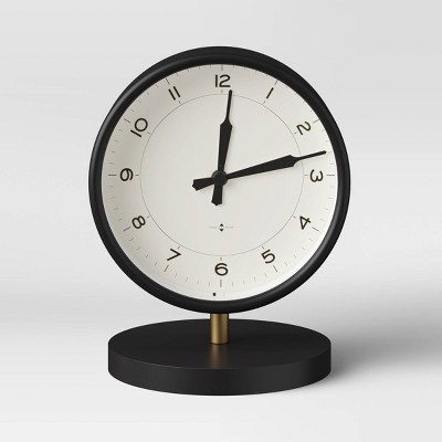 Table Clock Matte Black - Threshold™