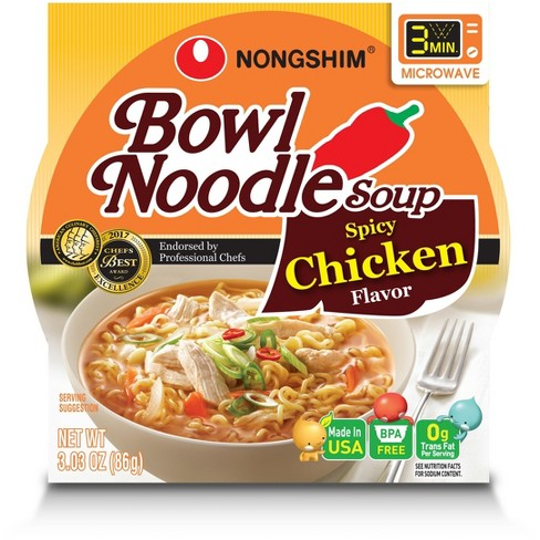 Nongshim Bowl Noodle Soup Spicy Chicken Flavor - 3.03oz - image 1 of 1