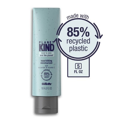 Planet KIND by Gillette Nourishing Moisturizer with Cucumber & Vitamin E - 5 fl oz
