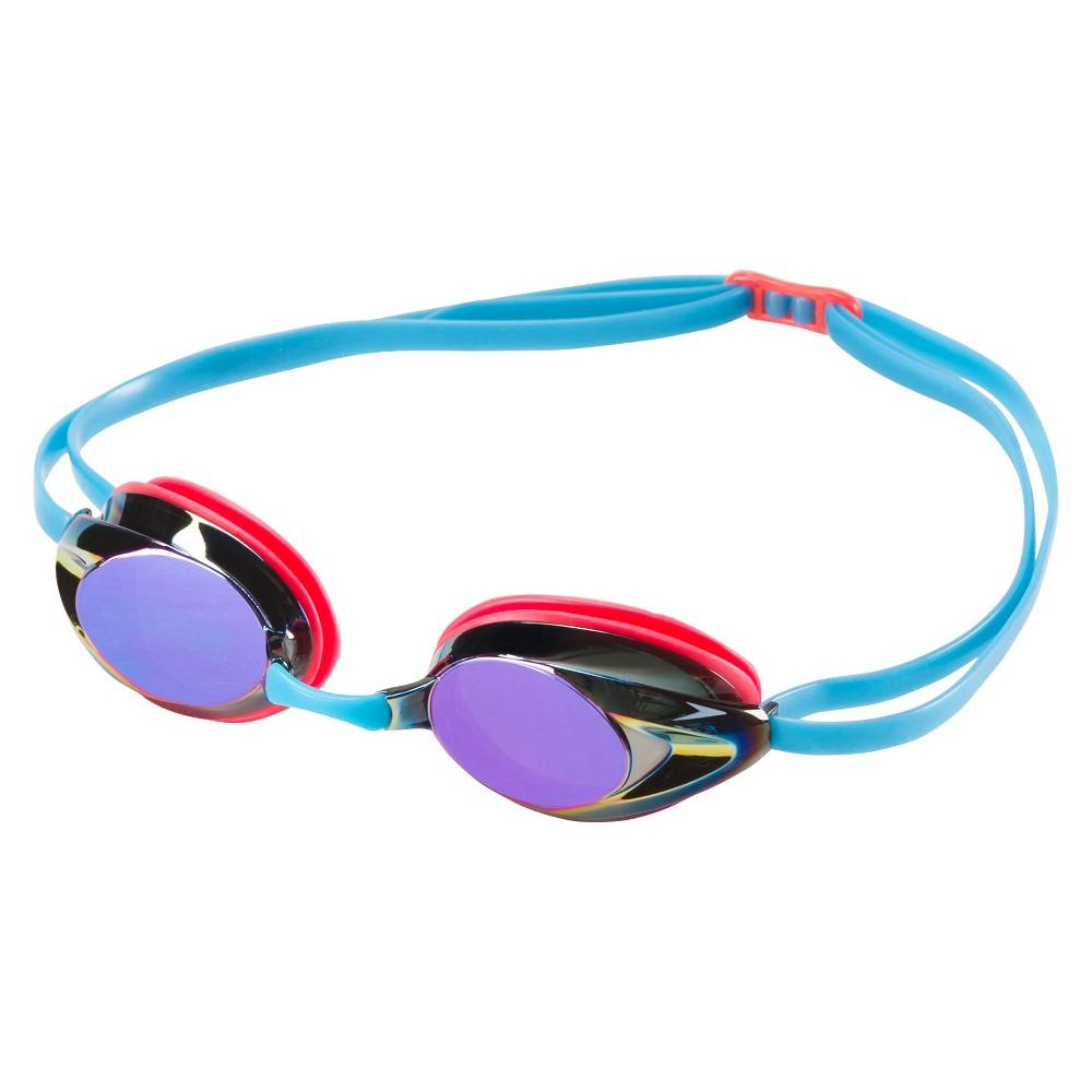 Speedo Adult Record Breaker Goggle - Pink, Multi-Colored