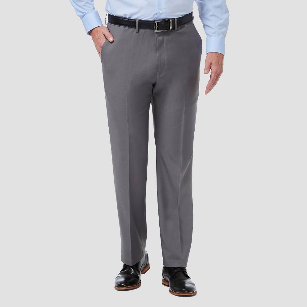 Discounts Haggar Men's Big & Tall Premium Comfort Classic Pleated Dress Pants -