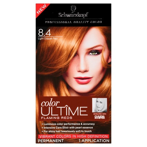 Schwarzkopf Color Ultime Flaming Reds Hair Color 8 4 Light Copper