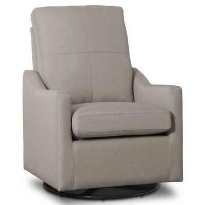Delta Children Kenwood Slim Nursery Glider Swivel Rocker Chair