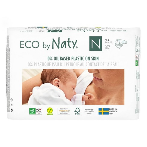 Eco By Naty Premium Disposable Diapers for Sensitive Skin - (Select Size and Count) - image 1 of 4