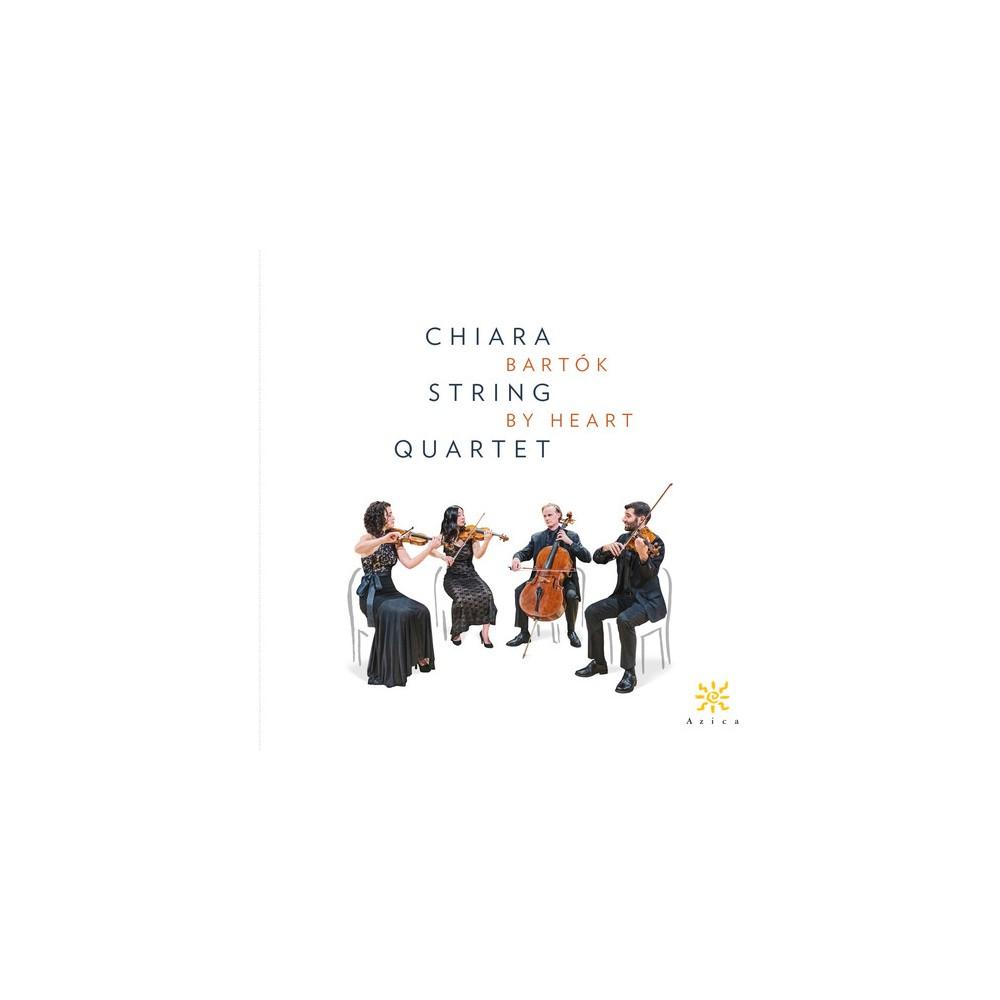 Chiara String Quarte - Bartok By Heart (CD)