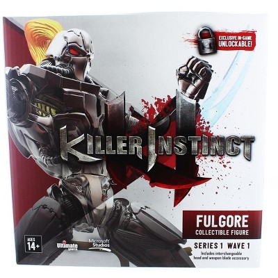 "Ultimate Source Killer Instinct Series 1 6"" Collectible Figure: Fulgore"