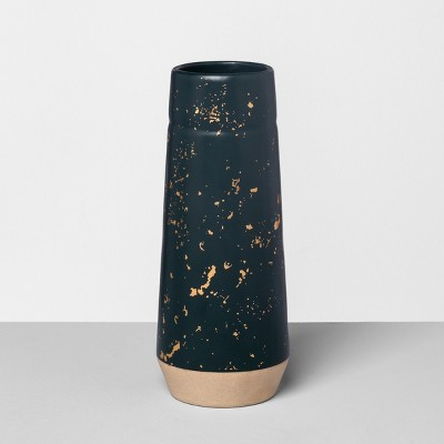 Vase Speckled Blue - Hearth & Hand™ with Magnolia