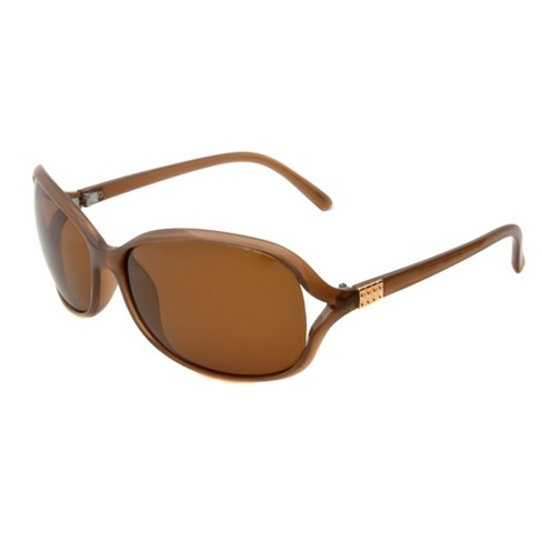 d4cdb69464 Women s Two Tone Polarized Sunglasses - A New Day™ Tan   Target