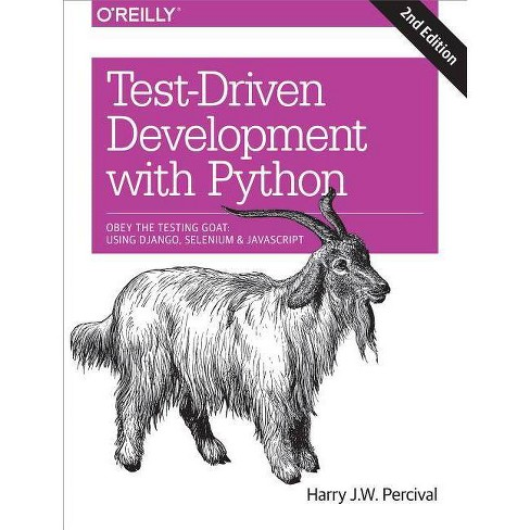 Test-Driven Development with Python - 2nd Edition by  Harry Percival (Paperback) - image 1 of 1