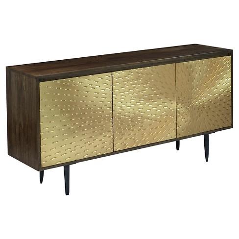 Storage Table Brass - Treasure Trove - image 1 of 2