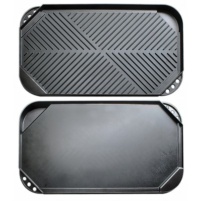 Ecolution Kitchen Extras Double Burner Reversible Grill/Griddle
