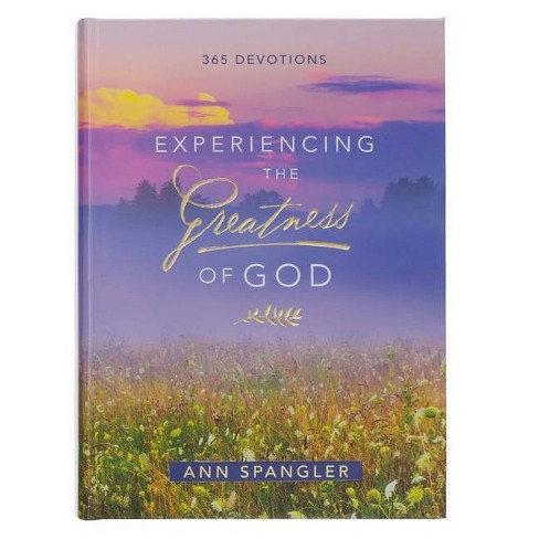 Devotional Experiencing the Greatness of God Hc - by  Ann Spangler (Hardcover) - image 1 of 1