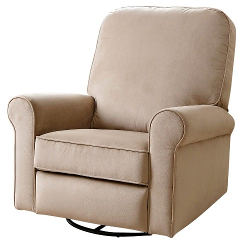 Perth Fabric Swivel Glider Recliner Chair- Abbyson Living - image 1 of 7