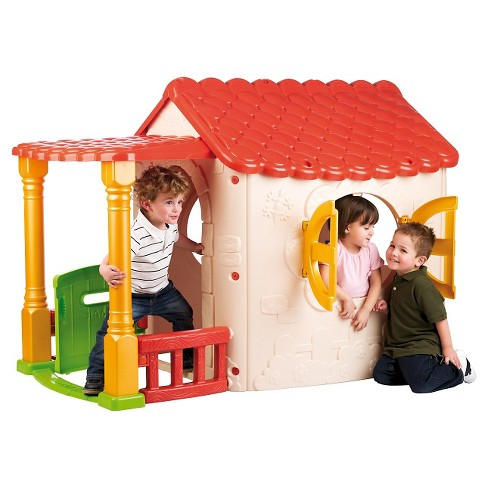 ECR4Kids Lake Cottage Children's Playhouse - image 1 of 2