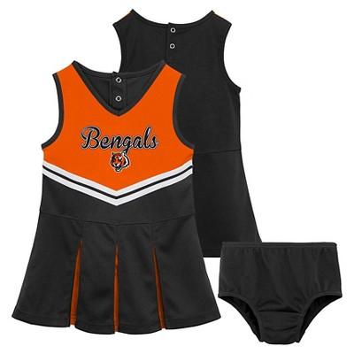 Cincinnati Bengals Toddler Girls Cheer Set 4T
