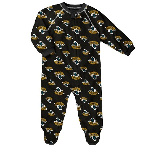 NFL Jacksonville Jaguars Baby Boys' Blanket Zip-Up Sleeper - image 1 of 1