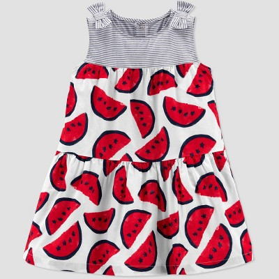 Toddler Girls' Watermelon Dress - Just One You® made by carter's Red