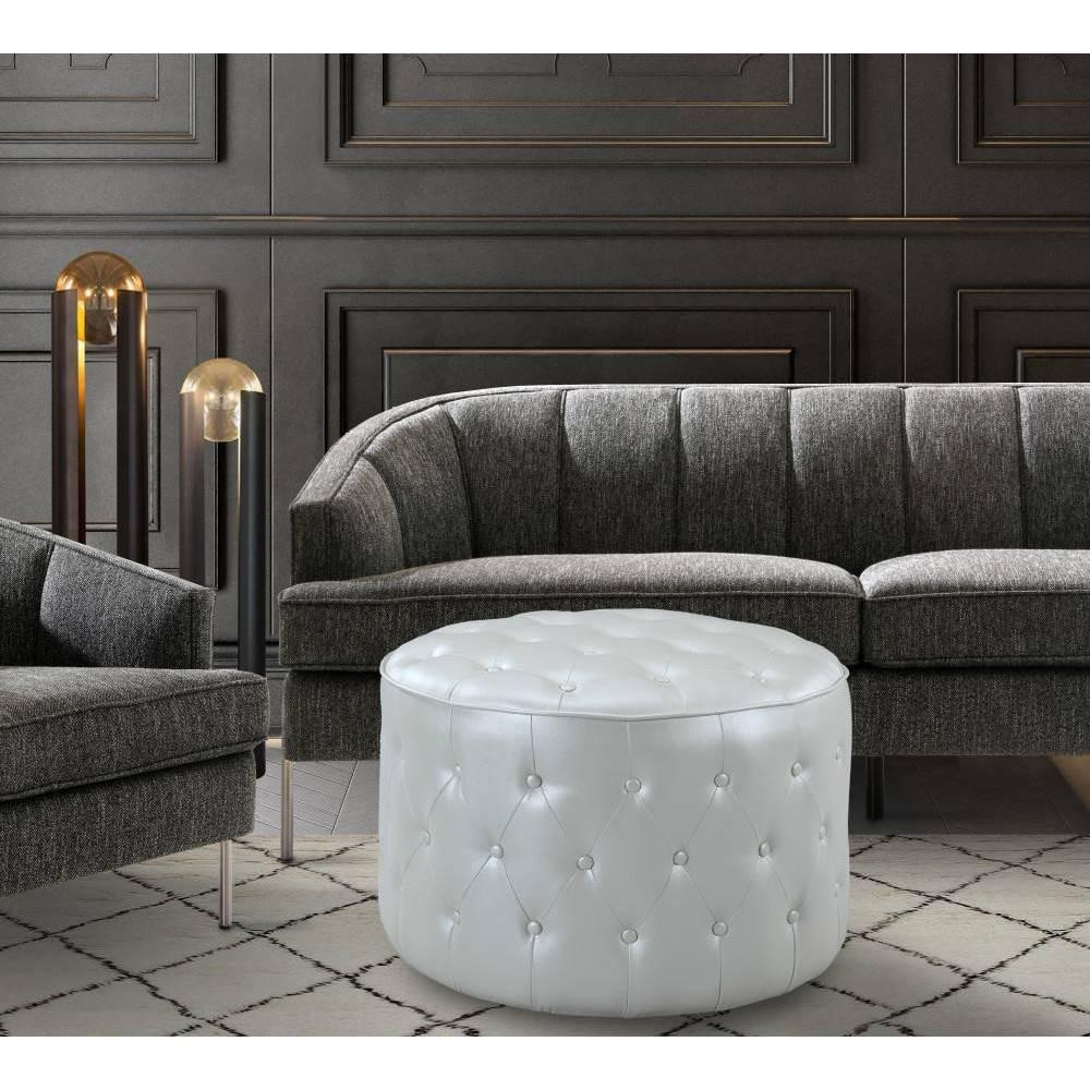 Tosh Ottoman Beige - Chic Home Design was $269.99 now $188.99 (30.0% off)