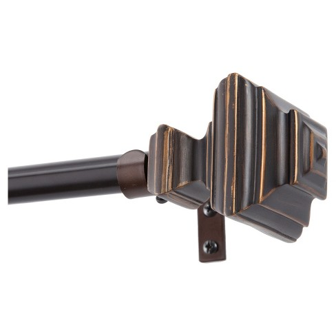 "Kenney™ 3/4"" Diameter Corbin Curtain Rod - Oil-Rubbed Bronze - image 1 of 4"