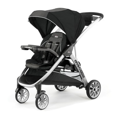 Chicco Bravo for 2 Double Stroller - Iron