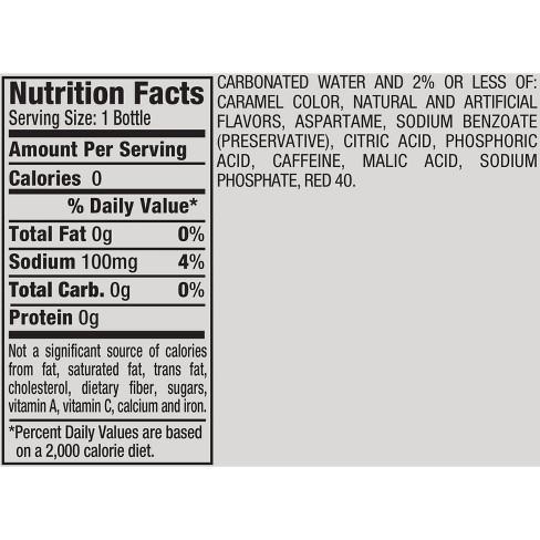 Diet Dr Pepper Cherry 20 Fl Oz Bottle Target