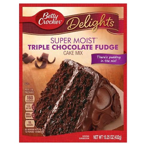 Betty Crocker Triple Choc Fudge - 15.25oz - image 1 of 4