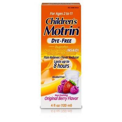 Children's Mortin NSAID Oral Suspension Berry - 4oz
